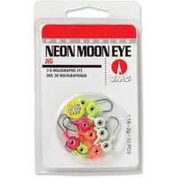 Lindy Round Head Fishing Jig w//3D Eyes 1//8 oz Glow 7//Pack LJG337