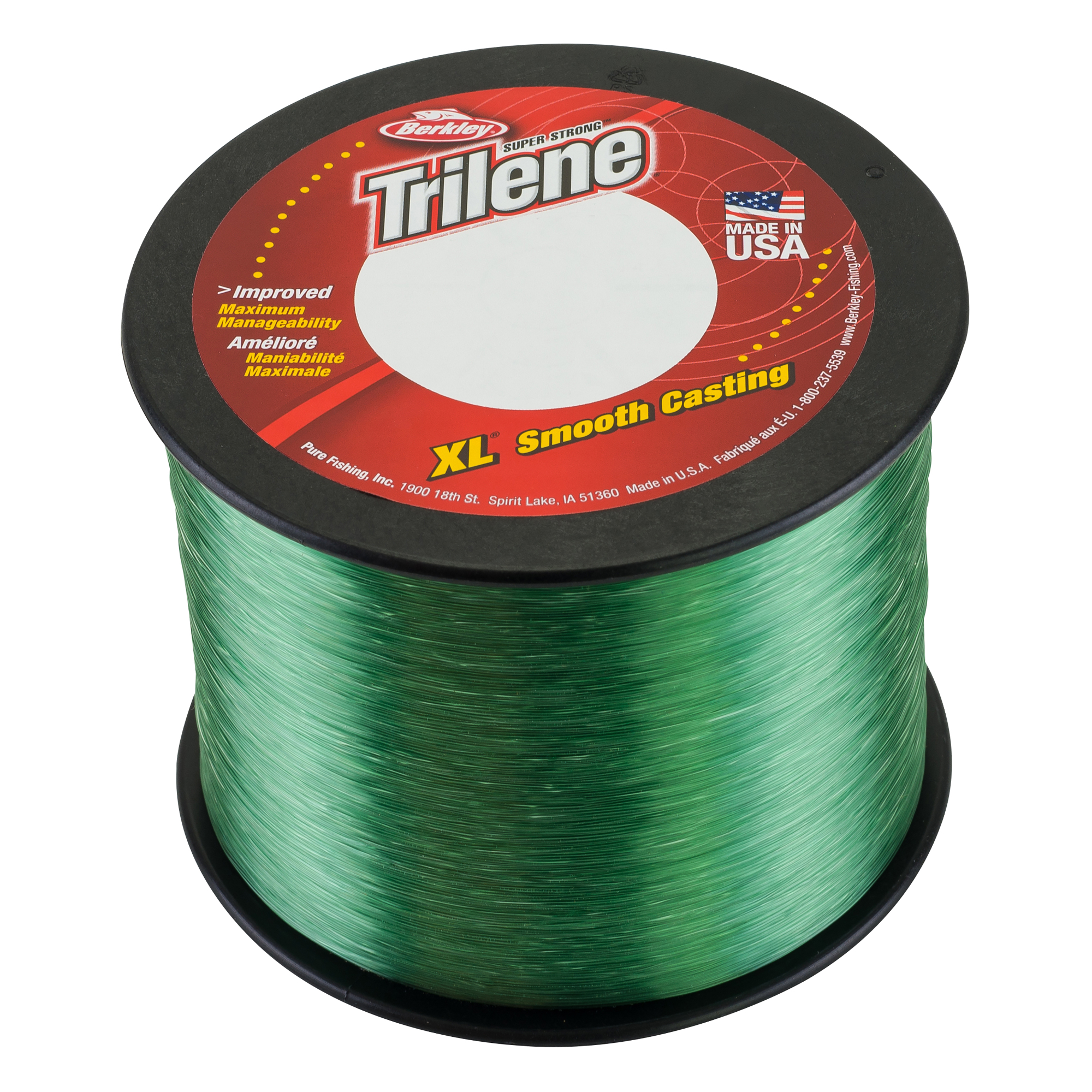 Berkley Trilene XL 20 lb  Monofilament Fishing Line, Low-Vis